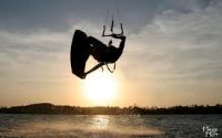 This is kiteboarding